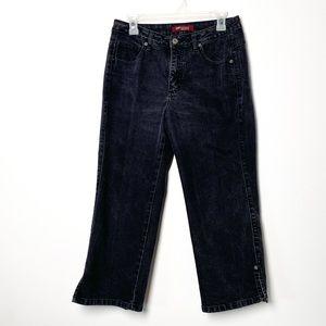 Vintage Lee Ultimate 5 High Rise Capri Jeans